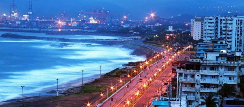 Vishakhapatnam- The capital city of the Indian State
